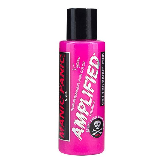 toner do włosów MANIC PANIC AMPLIFIED - COTTON CANDY PINK 118ml  5-6 tygodni na włosach