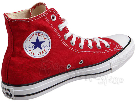 trampki CONVERSE CHUCK TAYLOR ALL STAR HI RED