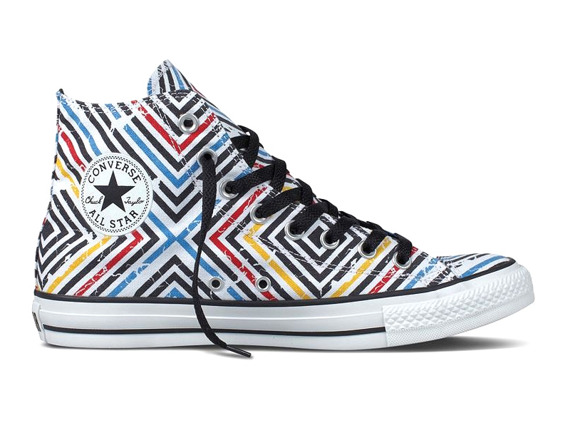 trampki CONVERSE CHUCK TAYLOR ALL (WHITE/BLACK/MULTI)