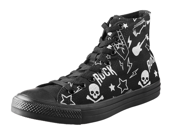trampki CONVERSE(M3310) - CHUCK TAYLOR ALL STAR ROCK YOU BLACK