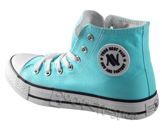 trampki NEW AGE - ANGEL BLUE (082)