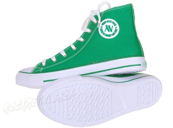 trampki NEW AGE - GREEN (082)