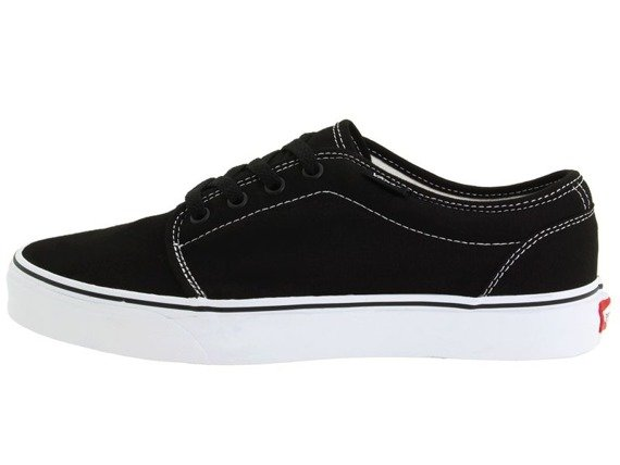 trampki VANS  - 106 VULCANIZED BLACK WHITE
