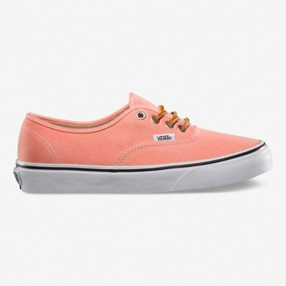 trampki VANS - AUTHENTIC BRUSHED TWILL FRESH SALMON