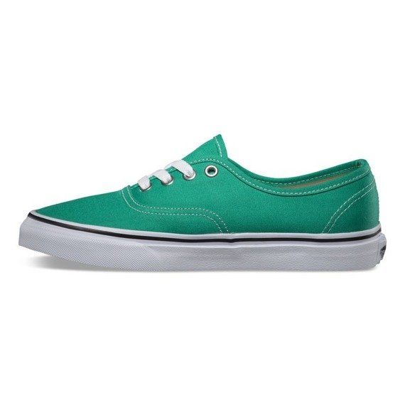 trampki VANS - AUTHENTIC EMERALD TRUE WHITE