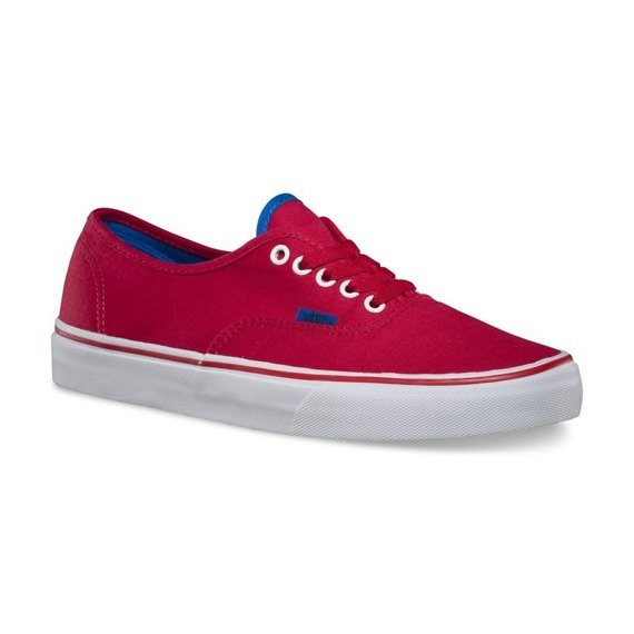 trampki VANS - AUTHENTIC POP CHINESE RED SKYDIVER