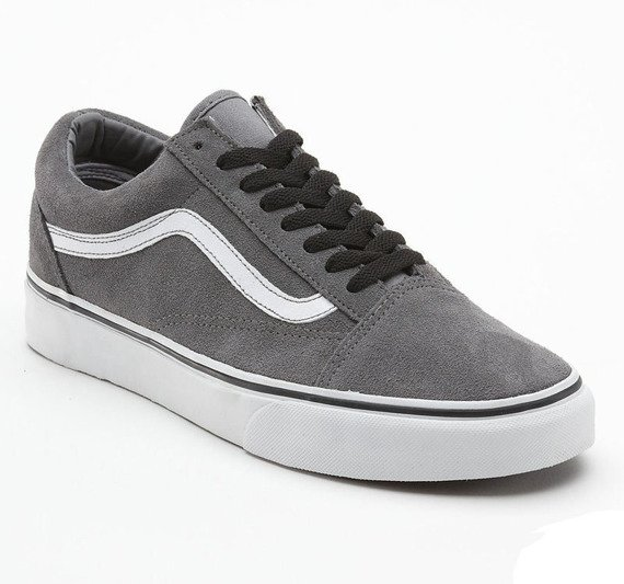 trampki VANS  - OLD SKOOL (SUEDE/STEEL GREY/TRUE WHITE)