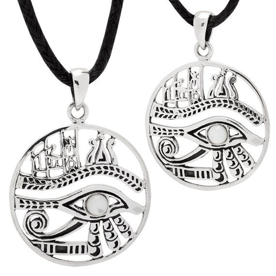 wisior EYE OF HORUS, srebro 925