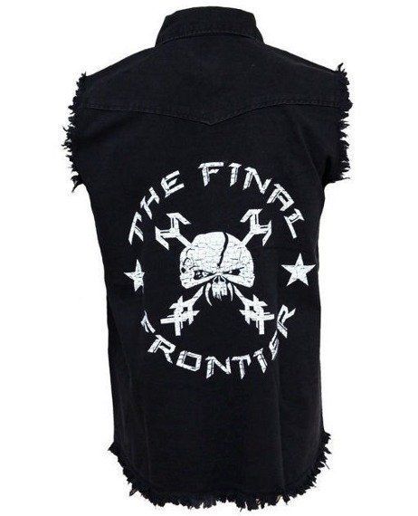 workshirt IRON MAIDEN - THE FINAL FRONTIER - VINTAGE SKULL