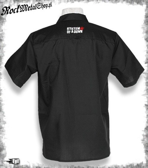 workshirt SYSTEM OF A DOWN - LOGO  (z)