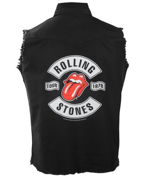 workshirt THE ROLLING STONES - TOUR 1978