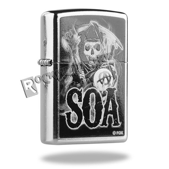 zapalniczka ZIPPO - SONS OF ANARCHY STREET CHROME