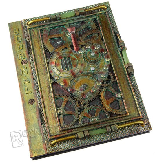 zeszyt STEAMPUNK HEART JOURNAL  gładki