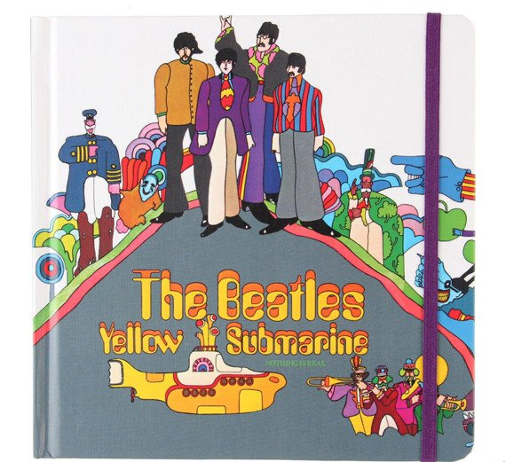 zeszyt THE BEATLES - YELLOW SUBMARINE