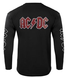 bluza AC/DC - BACK IN BLACK czarna kangurka
