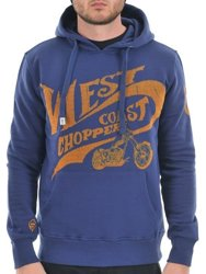 bluza kangurka WEST COAST CHOPPERS - CHOPPERS FOR LIFE navy