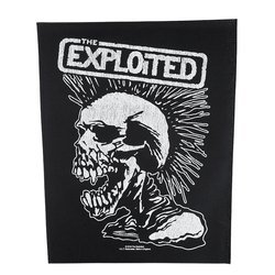 ekran THE EXPLOITED - VINTAGE SKULL