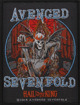 naszywka AVENGED SEVENFOLD - HAIL TO THE KING