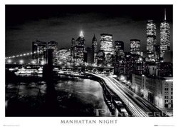 plakat MANHATTAN -  NIGHT